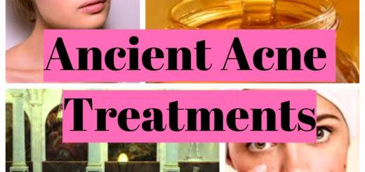 Ancient Acne Treatments