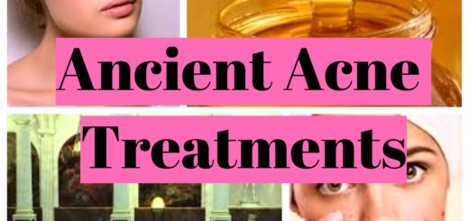 Ancient Acne Treatments