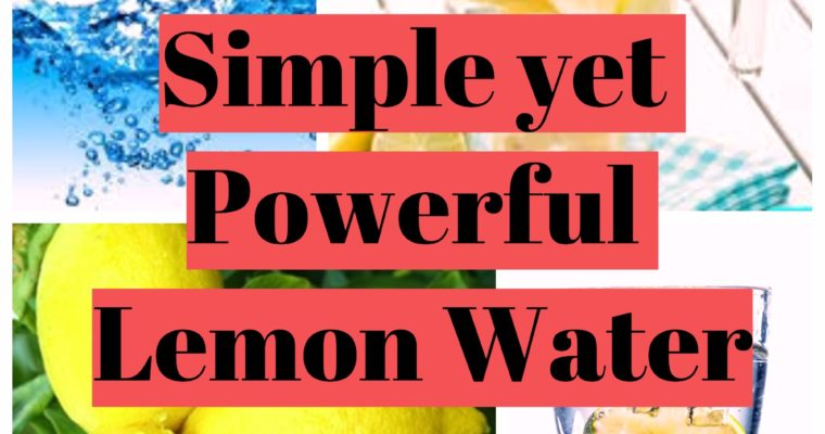 Lemon Water – How to lose weight and Detox
