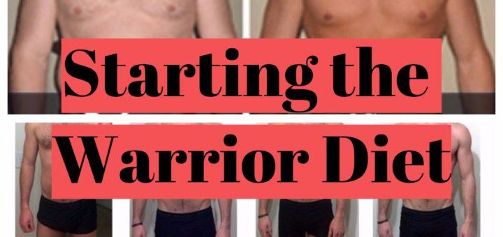 Starting the warrior diet
